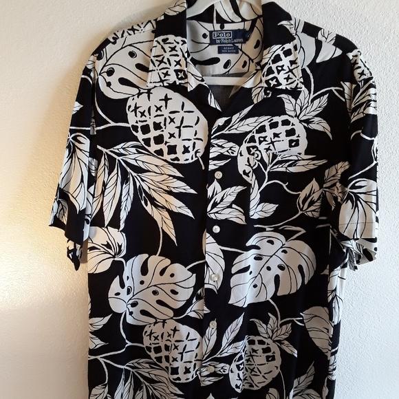 7d692070 Polo by Ralph Lauren Shirts | Sold Polo Ralph Lauren Mens Hawaiian ...